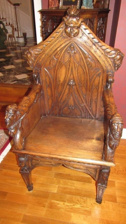 Ornately Carved Chair