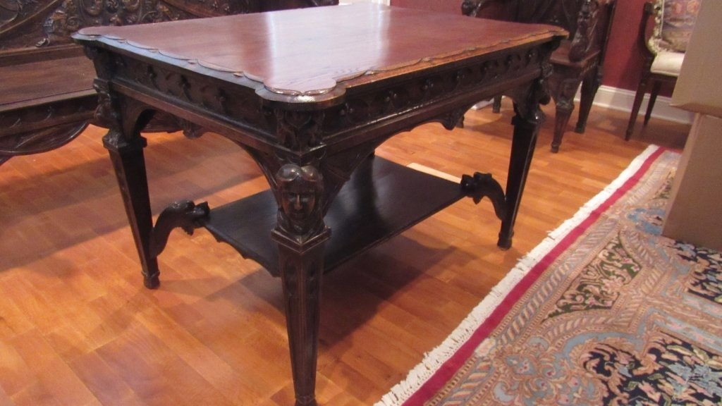Ornately Carved Table