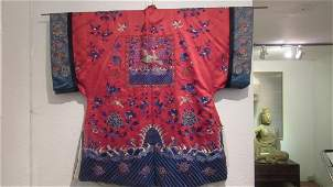 Qing Dynasty Ladies Silk Cloths