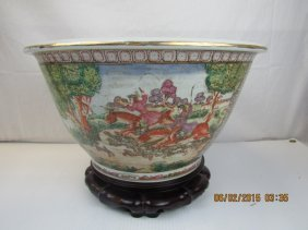 Chinese Famille Rose Bowl 19th Century