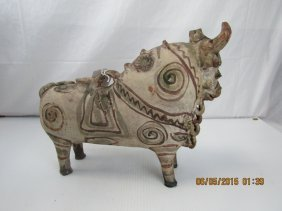 Chinese Buffalo Shaped Water Pitcher