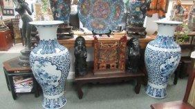 20th Century Chinese Export Urns