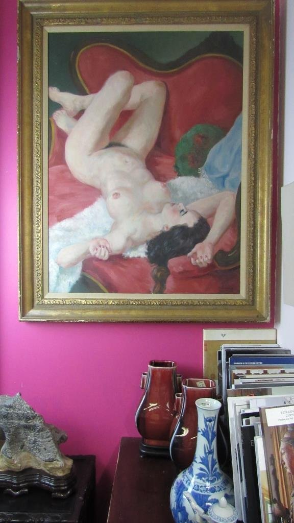 European Nude Oil Painting