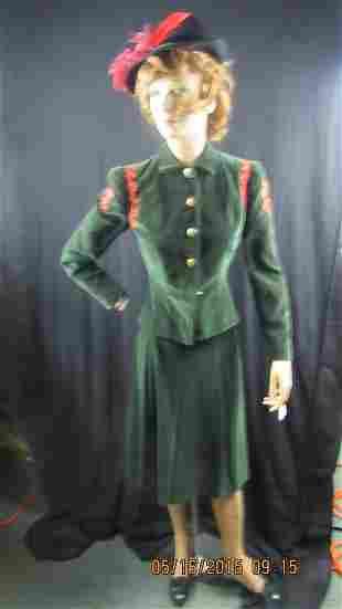 Vintage Lanz of Salzberg Austrian Wool 3pc. Suit