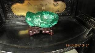 Chinese Malachite Sculpture