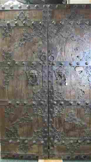 Pair of Chinese Doors