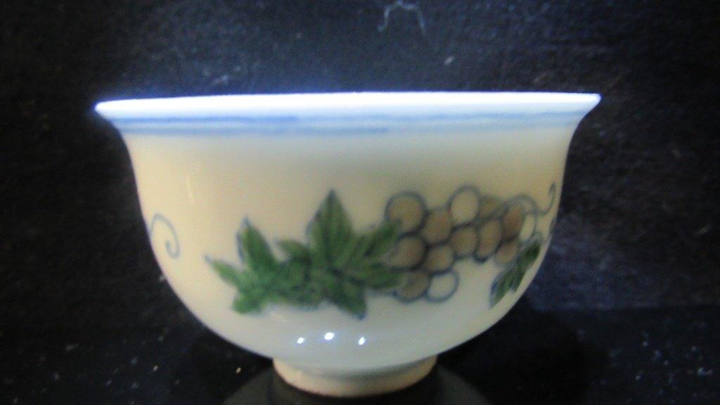 Ming Dynasty enameled Porcelain Cup