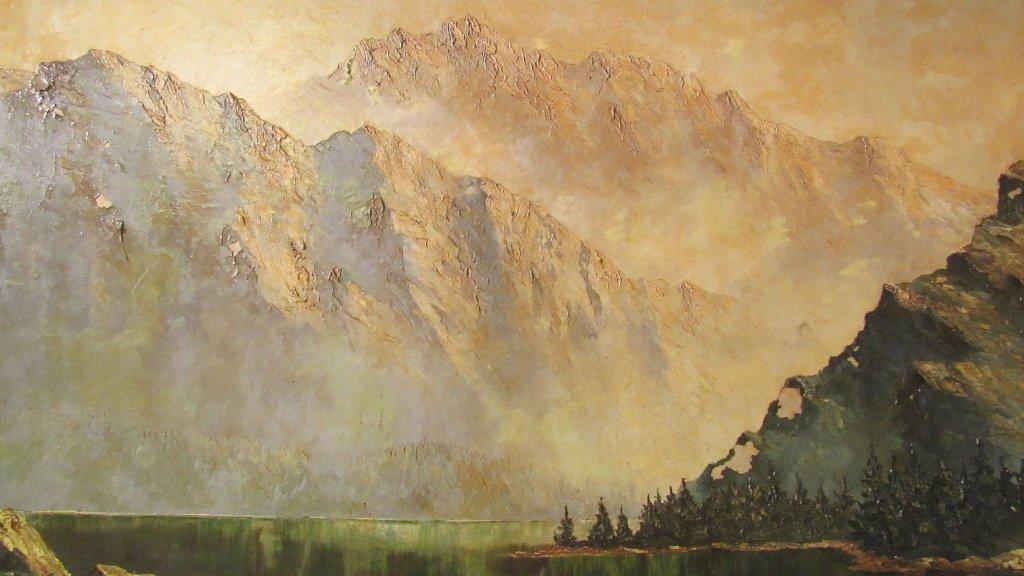 European Mountain Landscape Painting - 2
