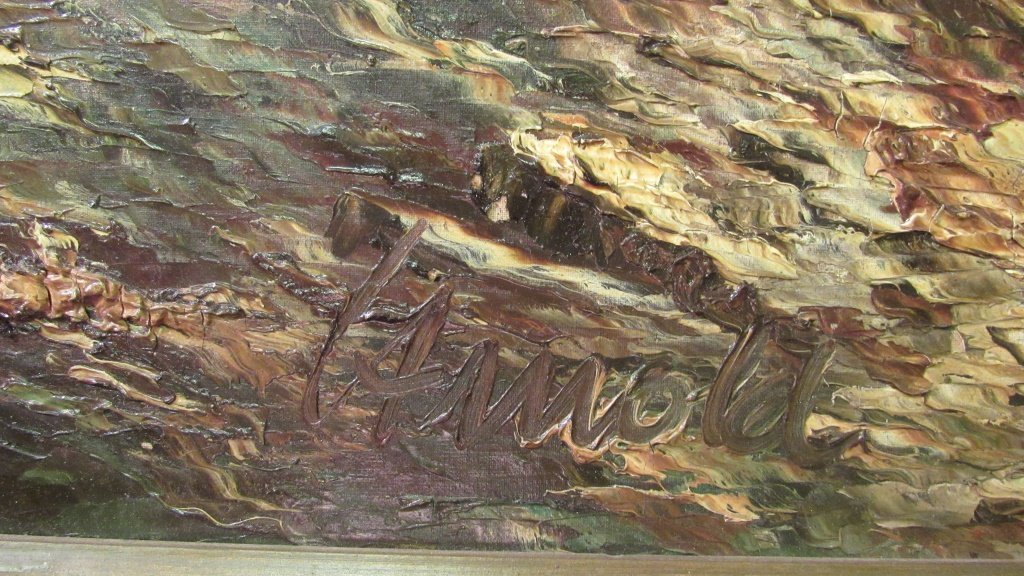 European Mountain Landscape Painting - 3