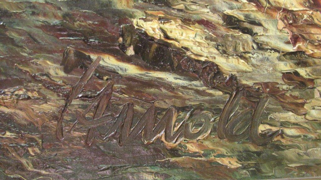 European Mountain Landscape Painting - 6