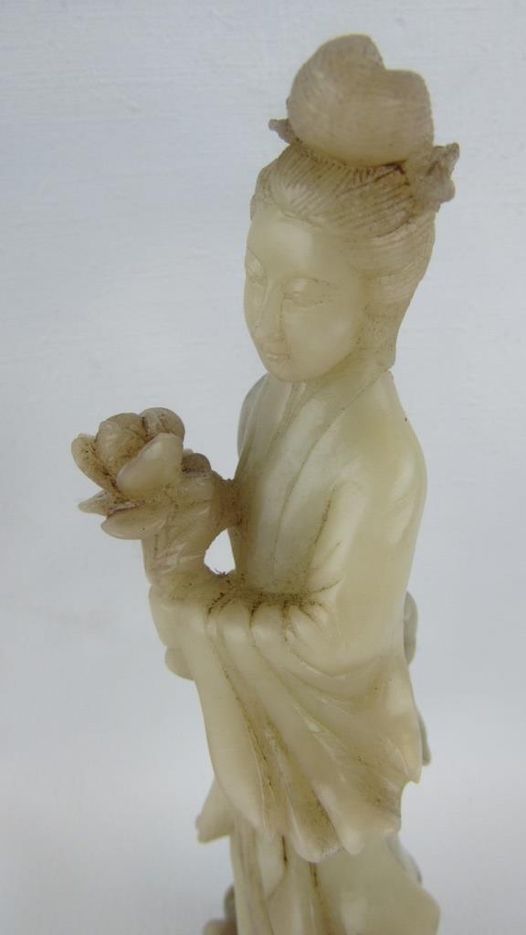 Jade Carved Figurine - 3