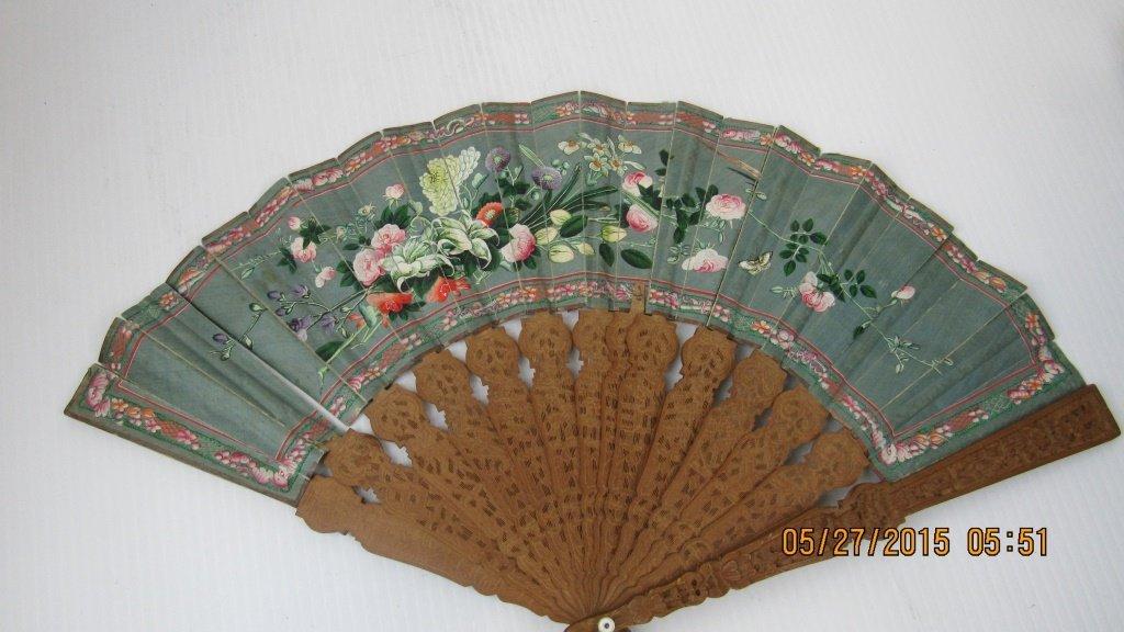 19th Century Incense Wood Fan - 6