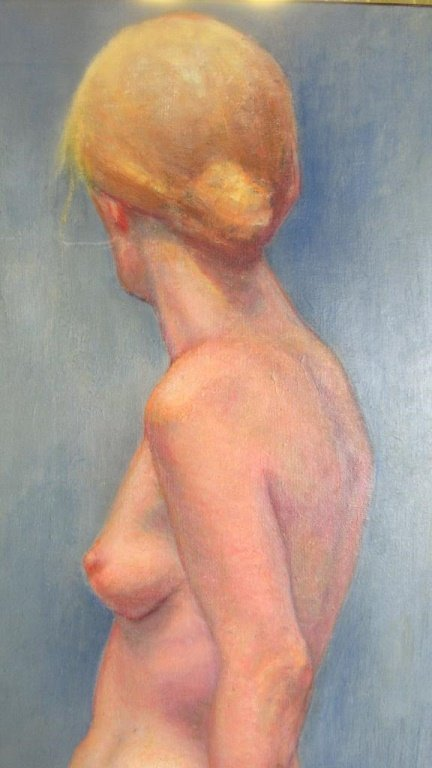 Beautiful Nude Oil Canvas Painting