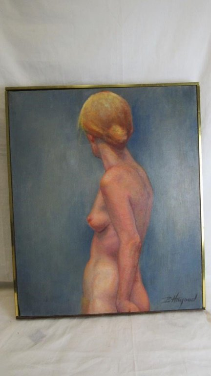 Beautiful Nude Oil Canvas Painting - 4