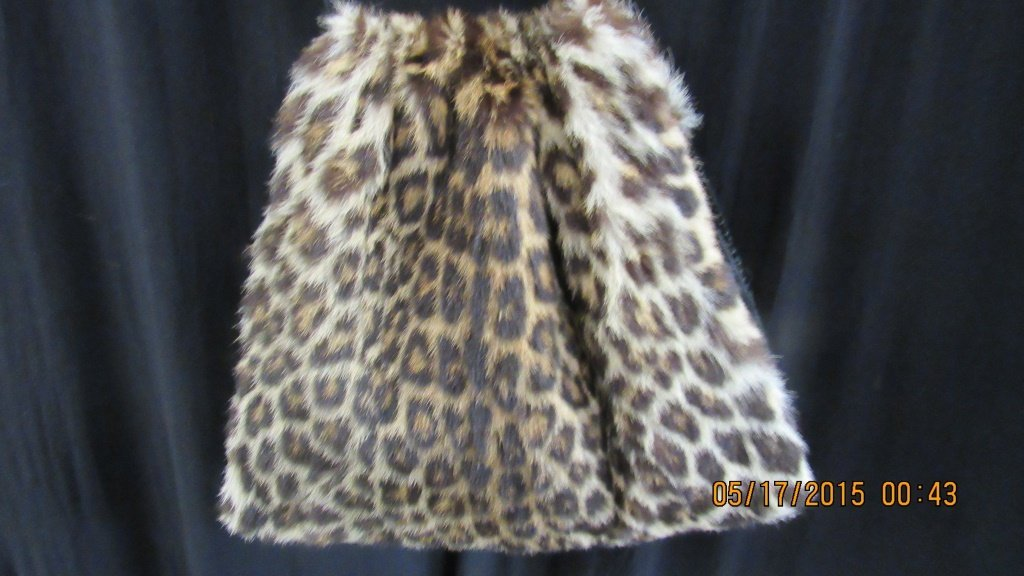 Vintage Fur Purse