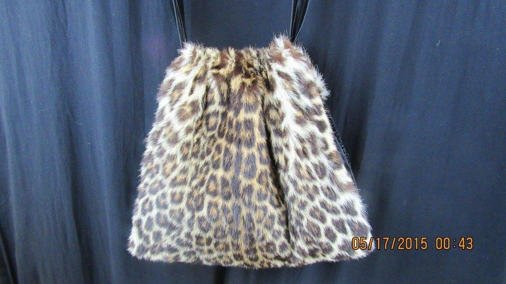 Vintage Fur Purse - 2