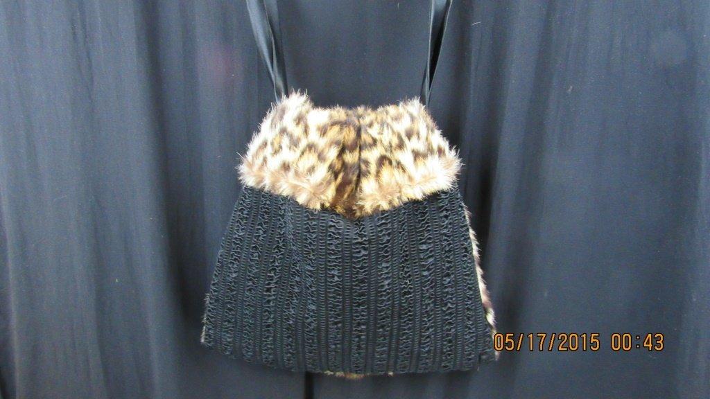 Vintage Fur Purse - 6