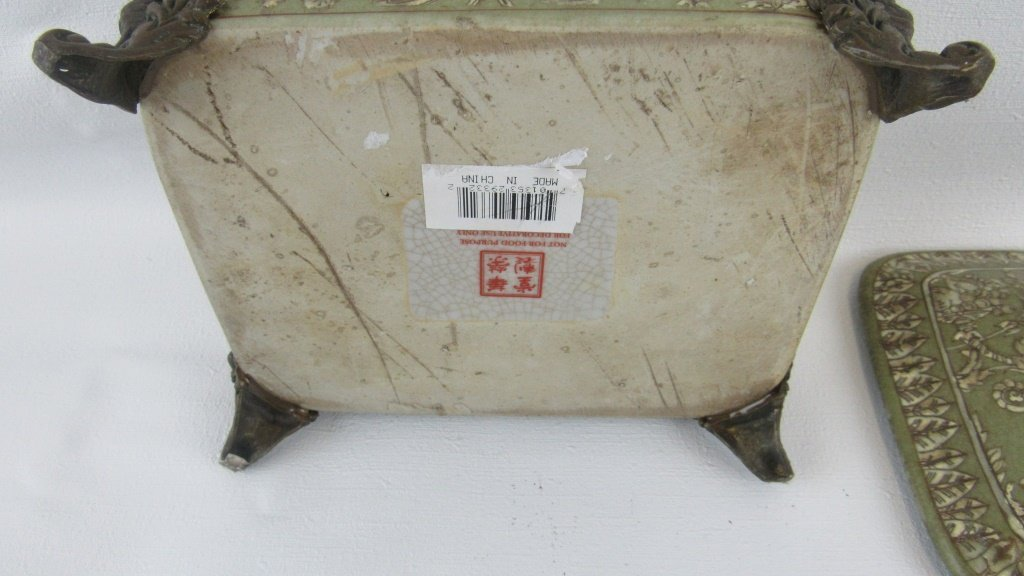 Chinese Exported Lidded Bowl - 6