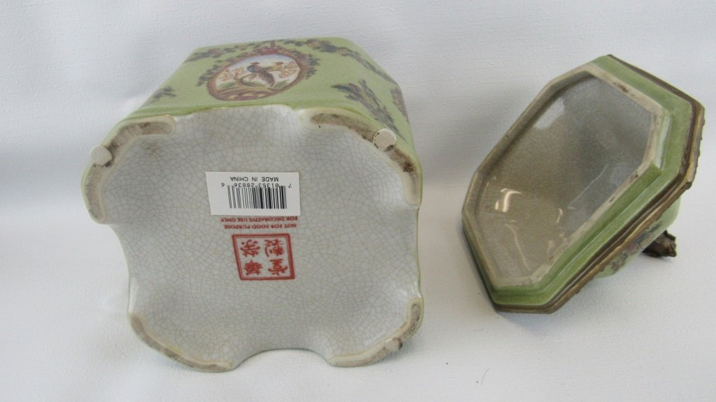 Chinese Exported Lidded Jar - 6