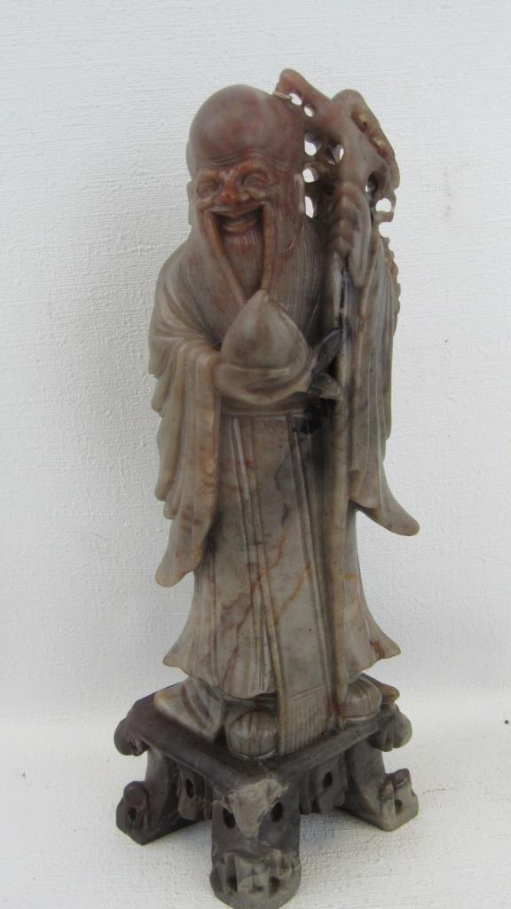 Soapstone Fortune Figurine - 2