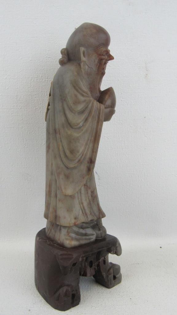 Soapstone Fortune Figurine - 5