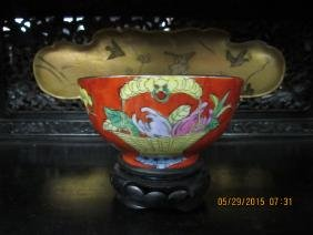 17th Century Qing Dynasty Porcelain Bowl