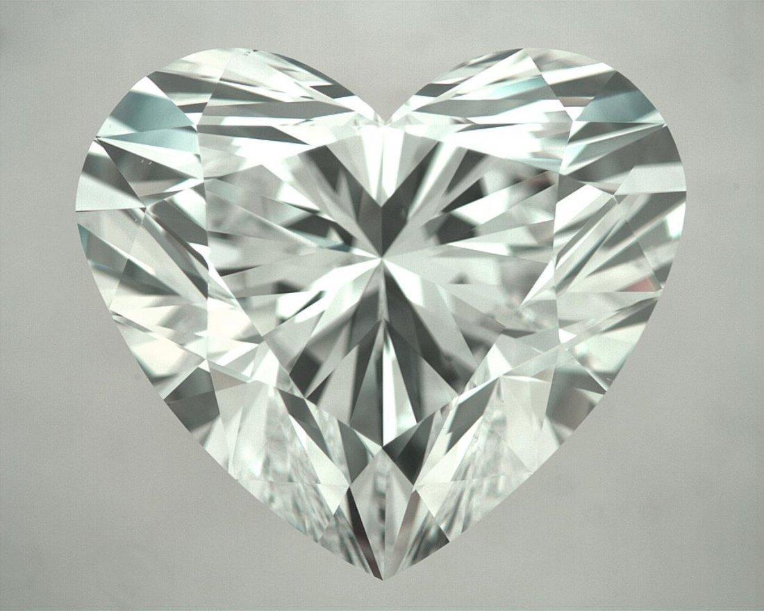 Loose Heart Shape Diamond 3.03ct (VS2-D) GIA