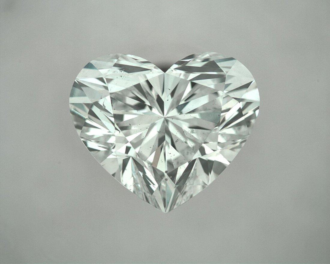 Loose Heart Shape Diamond 1.14ct (SI1-D) GIA