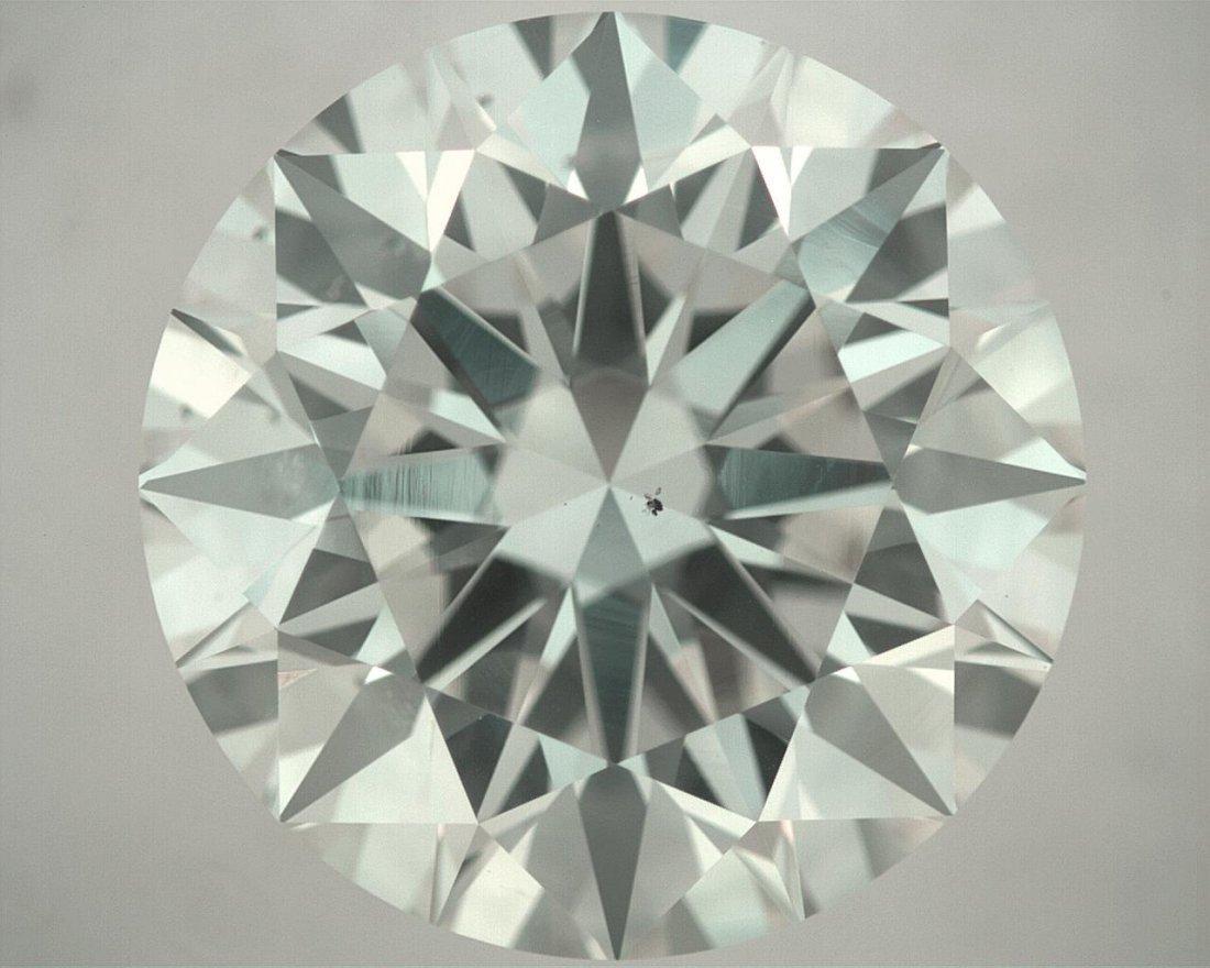 Loose Round Diamond 4.02ct (SI1- J) GIA