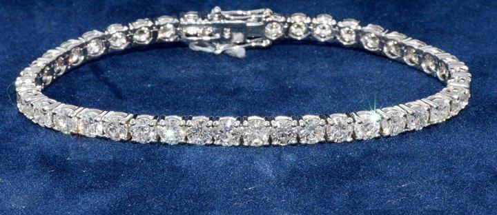 12.54ct.tw Diamond Bracelet 18K