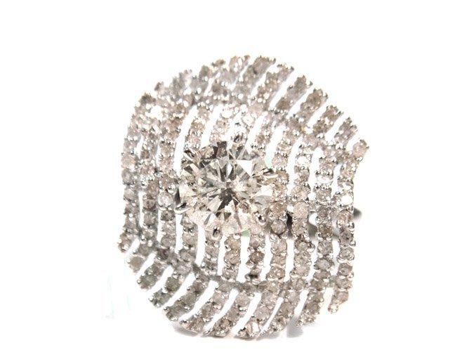 1.00ct. Center Round Diamond Ring 18K