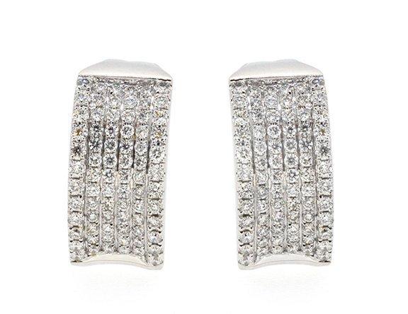 7.44ct.tw Diamond Earrings 18K
