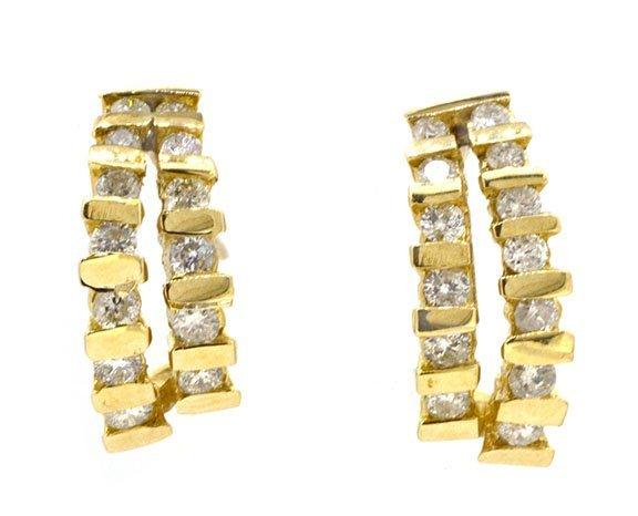 1.00ct.tw Diamond Earrings 14K