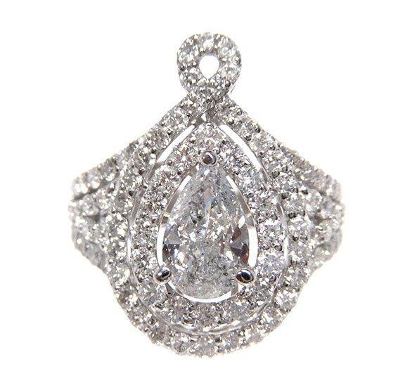 2.47ct.tw Diamond Ring 18K