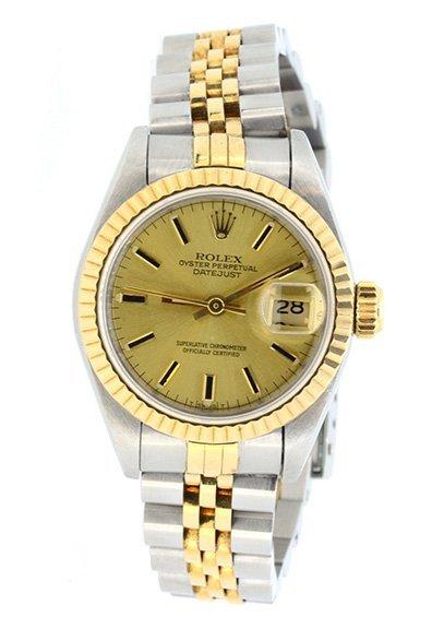 Watch Rolex Datejust Ladies 18K & Stainless Steel