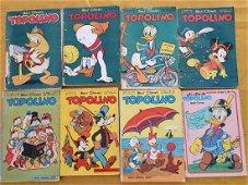 Lotto fumetti Topolino anni 50/60/70