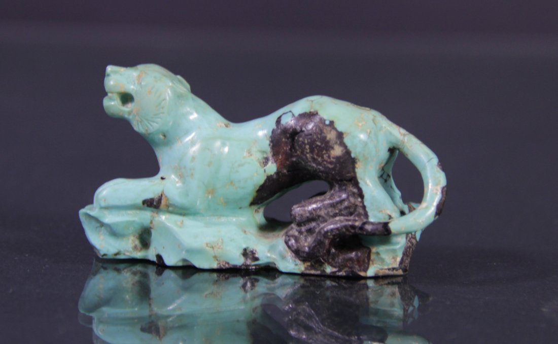 Turquoise sculpture - Scultura in turchese