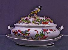 Porcelain bowl- Zuppiera in porcellana