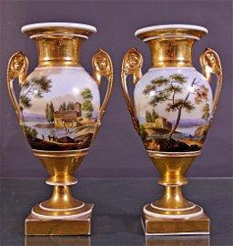 A pair of Empire vases- Coppia vasi Impero