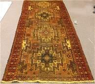 Persian Hamadan Rug 9.6x3.11