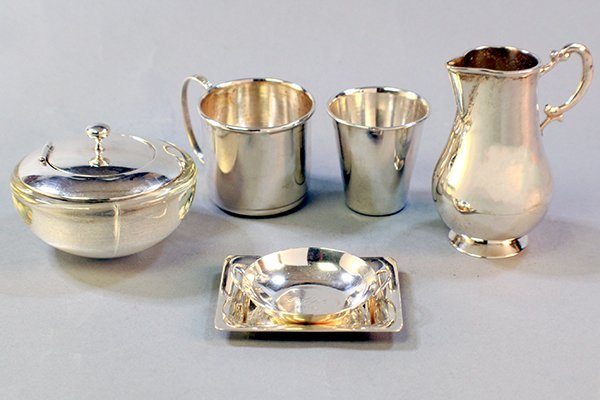 6 PC STERLING SILVER LOT