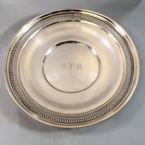 STERLING SILVER GORHAM BOWL 7.7 TROY OUNCES