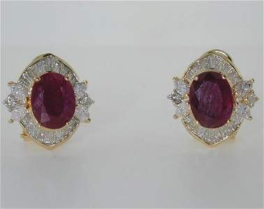 19: 6 CT DIA AND RUBY 14K 7.1GR