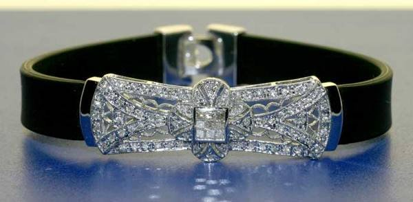 2022: 1.10 CT DIAMOND RUBBER BRACELET 14K