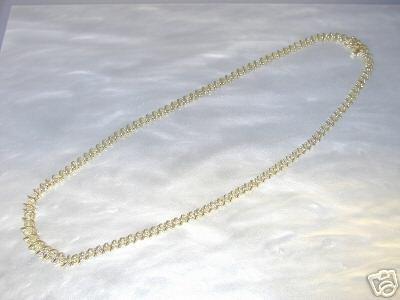 3108: 4 CT DIAMOND TENNIS NECKLACE