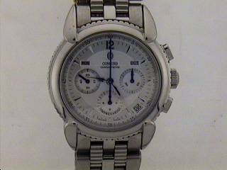 4702: GENTS. STAINLESS STEEL CONCORD CHRONOMETER