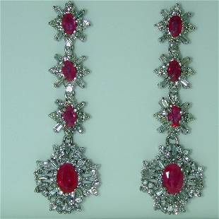 5.5 CT DIA AND RUBY 14K 12GR