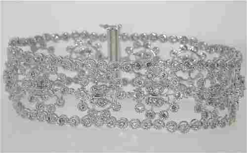 9 CT DIAMOND BRACELET
