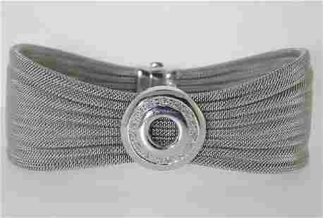 HANDMADE MESH DIAMOND BRACELET
