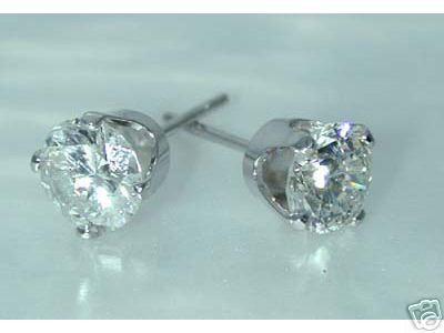 2.05 CT H-SI2 DIAMOND STUD EARRINGS